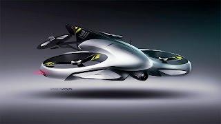 Race Drone Concept Timelapse
