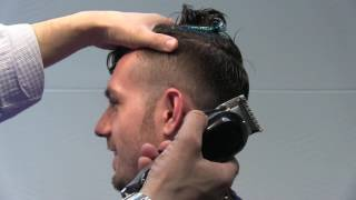 Mens Haircut: How To Do A Fade With A Long Top