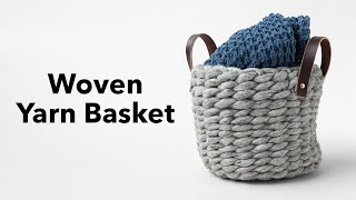 DIY Yarn Basket Tutorial with Anne Weil