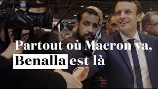 Toutes ces fois où Benalla s'est affiché aux côtés de Macron