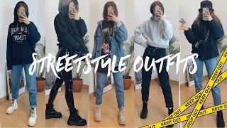 COZY STREET STYLE OUTFITS 🖤 Ops Katya