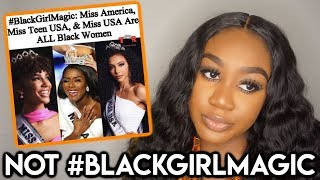 MIXED PAGEANT WINNERS ARE BLACK GIRL MAGIC? #ChiomaChats ft Nadula Hair