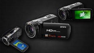 099.Цифровая видеокамера ORDRO Z80 с сенсорным экраном