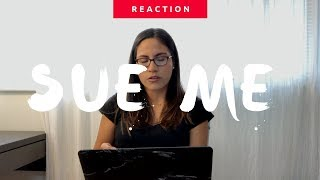 Sabrina Carpenter  | Sue Me (Official Video) Reaction | The Millennial Chisme
