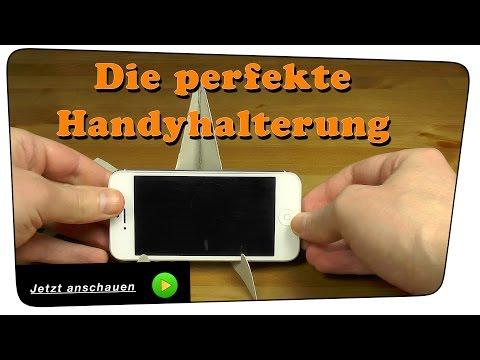 Handy Halterung/Ständer selber bauen - Life Hack | DIY