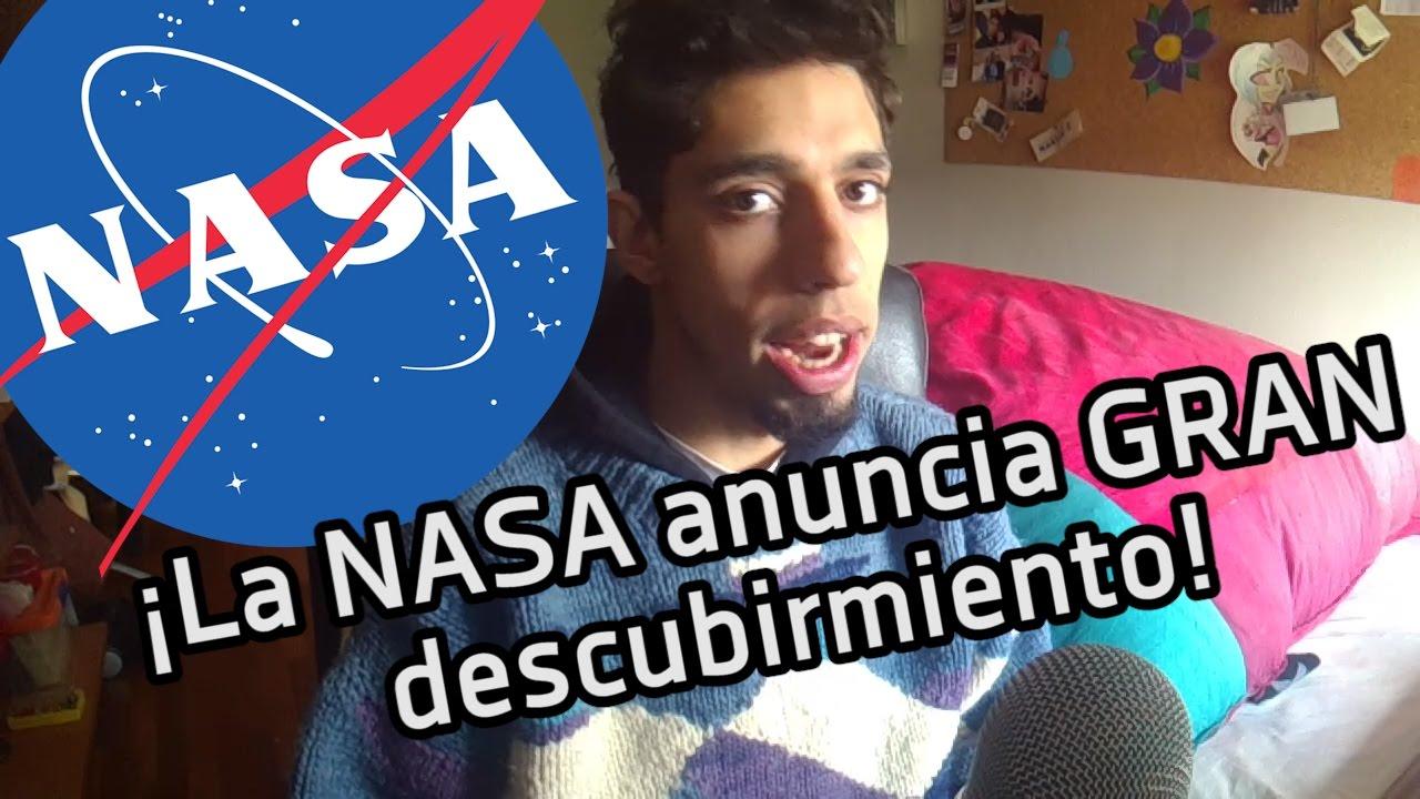 LA NASA ANUNCIA INCREÍBLE DESCUBRIMIENTO