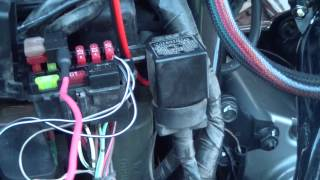 Boss MC400 600 watt speaker install on my 09 Raider S