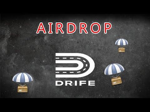 Airdrop Drife no valor de U$10,5 Dólares