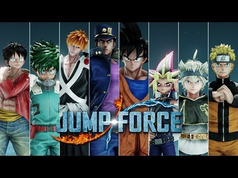 Jump Force - All Characters