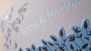 Paper Inspiration #19: Jenna & Nathans Invitation Suite