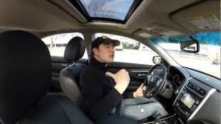 Real Videos: 2013 Nissan Altima 3.5 SL In Depth Review