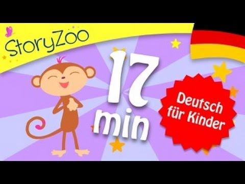 Erste Wörter spielerisch lernen • Kinder Lernen Deutsch • Hilfe für Flüchtlinge
