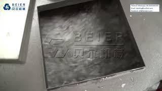 Beier machinery 500kg pe bottle washing line
