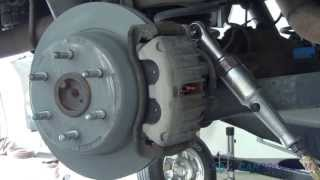 Brake Pad/Rotor Replacement - Rear