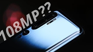 The 108MP PHONE? Xiaomi Mi Note 10 / Xiaomi Mi CC9 Pro review!