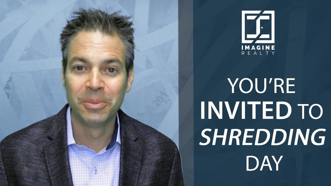 You're Invited to Our Upcoming Shredding Day