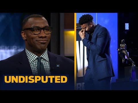 'It was a great moment': Shannon Sharpe on Giannis winning MVP & emotional speech | NBA | UNDISPUTED