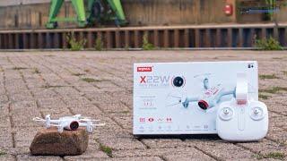Syma X22W drón bemutató (brotherhood-testvériség) (HD 720p 2.4GHz FPV Wifi)