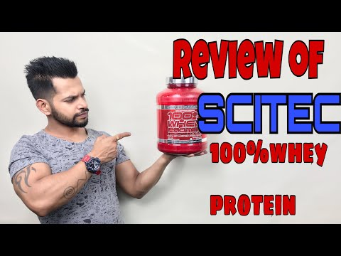 Scitec Nutrition 100% Whey Protein  Review | HINDI | NAGPUR