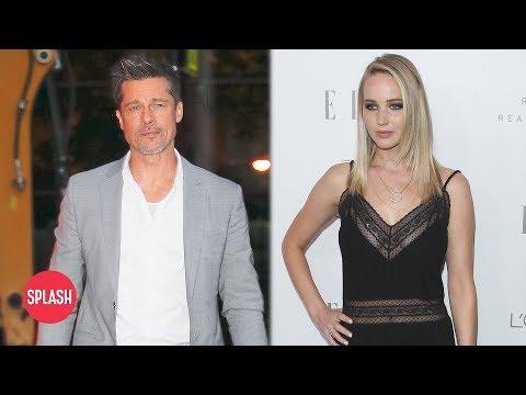 Rumor: Brad Pitt and Jennifer Lawrence Dating | Daily Celebrity News | Splash TV