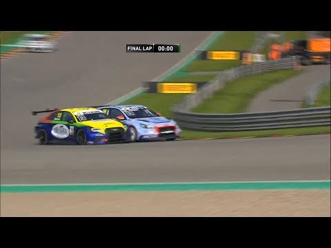 ADAC TCR Germany 2019. Race 2 Sachsenring. Battle for Win | Closest Finish