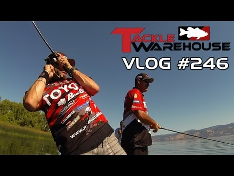 "Fishing Clear Lake with Jared Lintner & Michael ""Ike"" Iaconelli Part 4 – Tackle Warehouse VLOG #246"