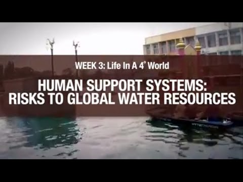 Human support systems: Risks to Global Water Resources
