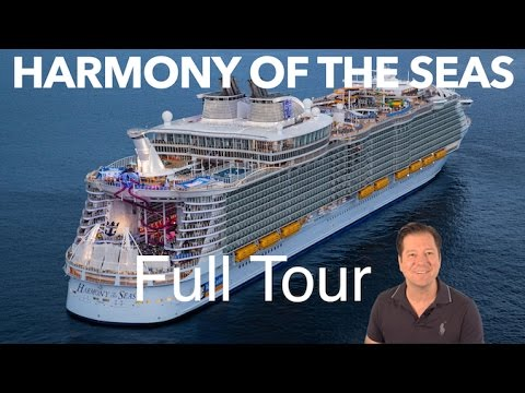 Harmony of the Seas Review – Full Walkthrough – Cruise Ship Tour – Royal Caribbean