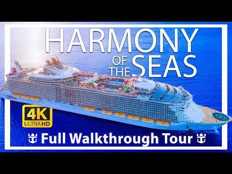 Harmony of the Seas Review – Full Walkthrough – Cruise Ship Tour – Royal Caribbean
