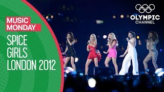 Виктория Бекхэм, Closing Ceremony - Spice Girls - London 2012 Olympic Games Highlights