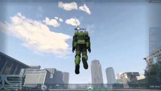 Chơi thử bản mod superman trong game GTA 5