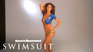 Melissa Satta Body Painting 2010 | Sports Illustrated Swimsuit