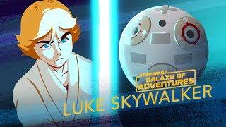 Episode 1.16 Luke Skywalker, entraînement au sabre laser (VO)