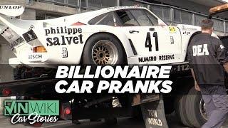 Here's how millionaires do car pranks on billionaires