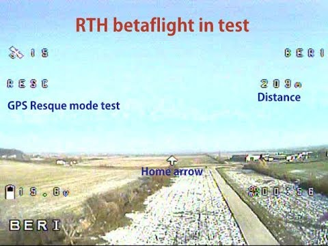 banggood Gps Betaflight rescue  test