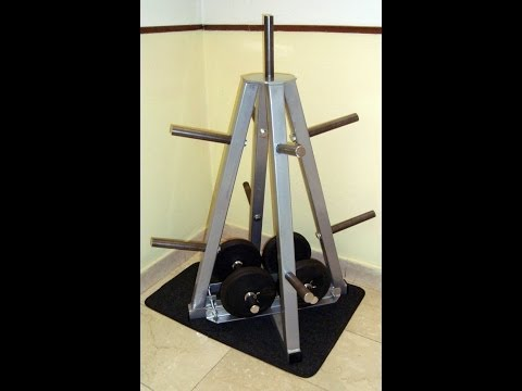 Weight Rack - Porta Pesi fai da te a Piramide