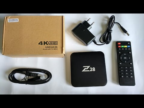 Z28 RK3328 Quad Core 2GB RAM 16GB ROM Android 7.1 4Kx2K 60fps H.265 Android TV Box from Banggood