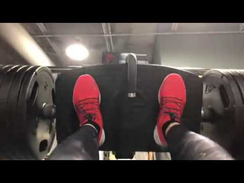 PR2s on leg press