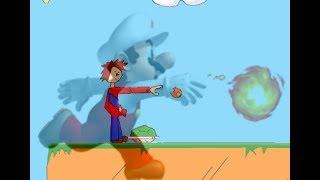 Mario, fireball