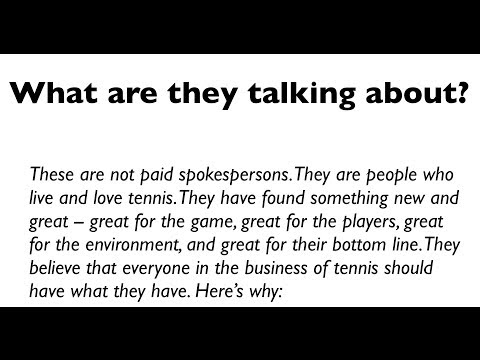 What people are saying about the Green Tennis Machine