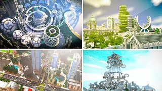 5 Incredible CITY Maps In Minecraft!