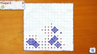 Dots Online (by BYRIL) - puzzle game for android - gameplay.