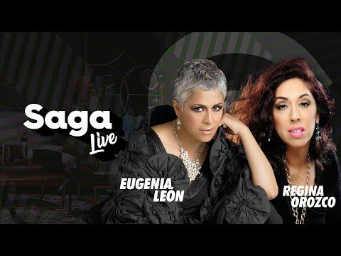 Eugenia León y Regina Orozco con Adela Micha