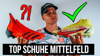 Die BESTEN Fußballschuhe für Mittelfeldspieler!