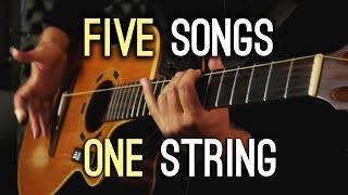 Five Songs | One String!