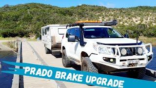 Bendix Ultimate 4WD Brake Upgrade Kit - Toyota LandCruiser Prado