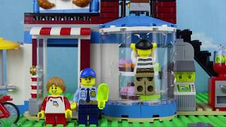 Лего сити мультик. Побег Джека. Трейлер 2 серия. Lego city детский мультфильм 60044