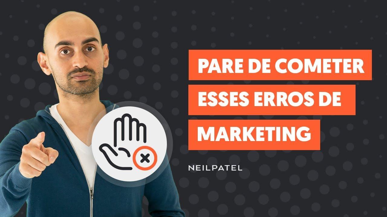 7 Erros de Marketing Online que Você Precisa Parar de Cometer