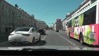 Управление Автомобилем по городу на Автомате .