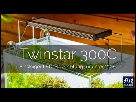 BESTE AQUARIUM LED FÜR UNTER 100€?   Twinstar 300C LED Beleuchtung   AquaOwner